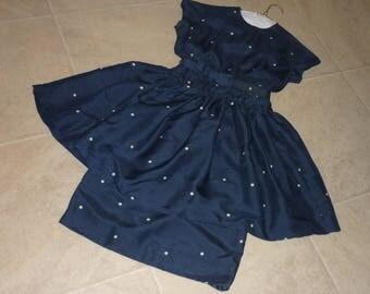 Retro Hollywood Glam Dress SHANTUNG SILK..Rockabilly..Perfect
