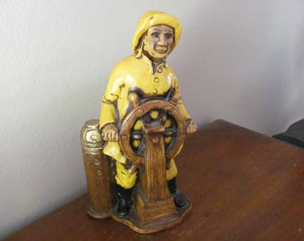 Vintage ORZECK Sea Captain Figure