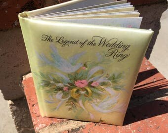 """Vintage 60's """"The Legend of the Wedding Ring"""" by Hallmark"""