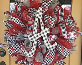 University of Alabama Wreath ~ Alabama Wreath