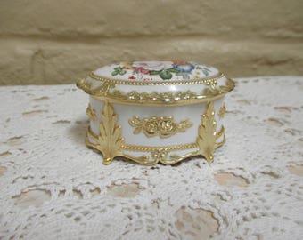 Vintage Westland Porcelain Music Box - Vintage Porcelain Music Box