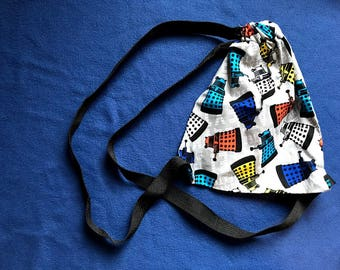 Doctor Who Drawstring Backpack