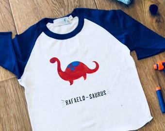 Baby Boy Dinosaur Clothes, Custom Boy Gift,Boy Dinosaur Shirt,Personalized Boy Gift,Boy Dinosaur Birthday Shirt,Dino Birthday Shirt,Dinosaur