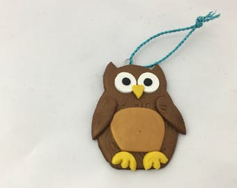 Owl gift tag/ decoration