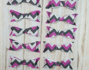 Paper Bows & Buttons, Scrapbook bow embellishment, die cut, paper bows