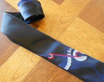 Vintage mens tie.  Mad Men.  Necktie.