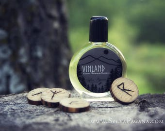 Natural cologne organic - VINLAND - viking shield maiden perfume cologne - botanical fragrance