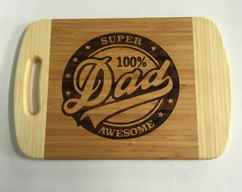 BBQ board, Cheese board, Bar board, Father's Day gift, for your super Dad.