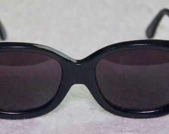 Vintage Givenchy Oversized Black Sunglasses