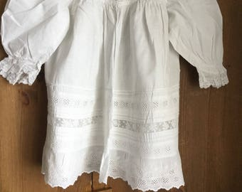 """Vintage cotton dress chest 18"""""""