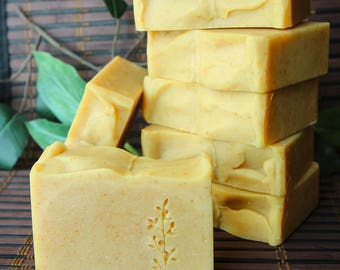 Orange Scone Handmade Cold Process Soap