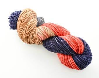 Lumberjack Teddy Bear - Hand Dyed DK Weight Yarn 100% Superwash Merino Wool