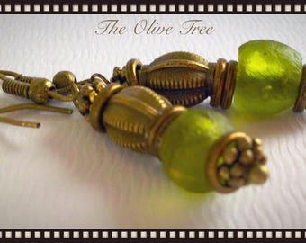 African tribal earrings-bohemian earrings