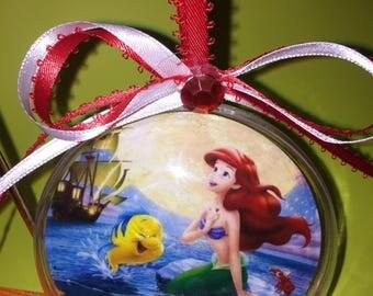 Ariel little mermaid  themed ornament