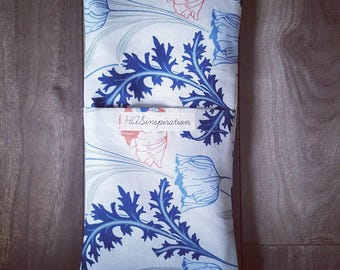 Whimsical Floral Yoga Eye Pillow with Lavender