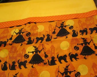 HALLOWEEN Pillow Cover/ Trick or Treat Bag - Witches  Ready to Ship