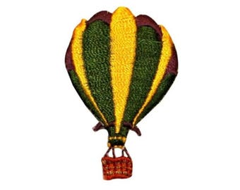 ID 1105B Hot Air Balloon Patch Festival Ride Float Embroidered Iron On Applique
