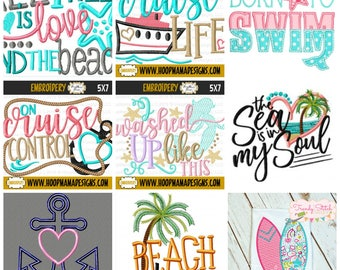 Beach Sample sale shirt- Beach Vacation shirt- Girls Summer shirt- Vacation Shirt- Applique Shirt- Cruise Shirt- Surfing shirt- Mermaid