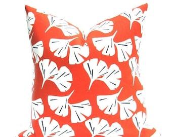15% Off Sale Orange Pillow , Outdoor Pillow Cover, Outdoor Pillow, Orange Pillow Cover, Throw Pillow, Accent Pillow, Outdoor Decor , Orange