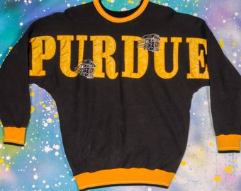 PURDUE University Sweatshirt Size L