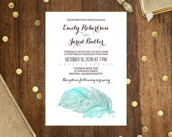 Printable Invitations Cards Instant Download Diy By Ameliycom