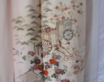 Vintage SILK Kimono#42