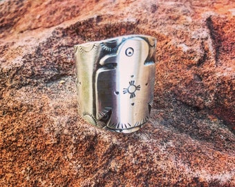 Thunderbird Ring (sterling silver )