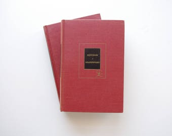 The Histories and Poems of William Shakespeare In Two Volumes - Modern Library 1947