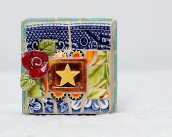 STAR, mosaic art, mosaic