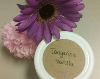 Tangerine Vanilla Body Butter 4 oz. jar