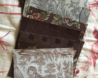 French General Charm Squares