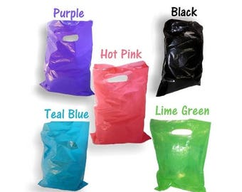 """On Sale 200 pack 9x12"""" 5 Colors ~Hot Pink