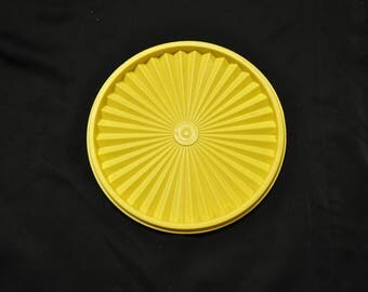 Yellow Servalier replacement Lid -  Approx. 8 inches across