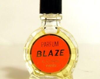 Vintage 1950s Parfum Blaze by L Clavel Mini Miniature Perfume