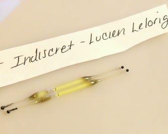 Vintage 1950s Indiscret by Lucien Lelong Perfume Nip Sample Vial