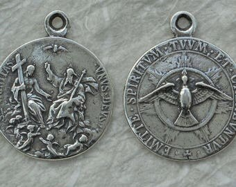 Bronze Holy Spirit and Holy Trinity Medal VP1310