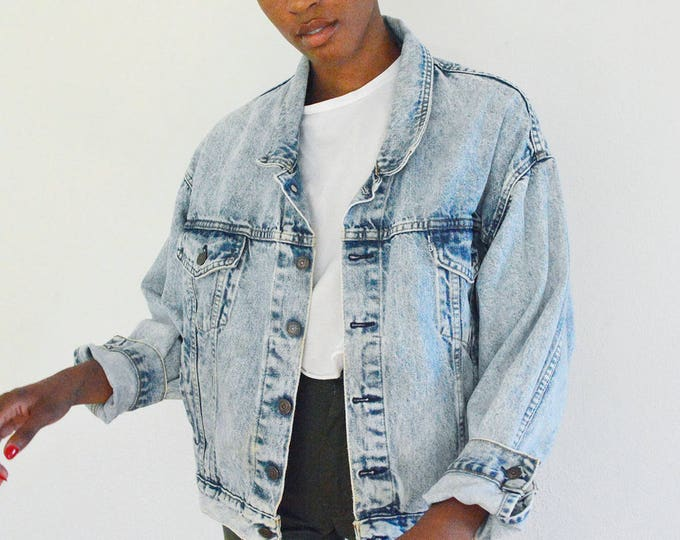 LEVI'S Jean Jacket size L