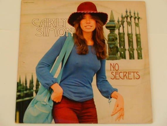 Carly Simon No Secrets You're So Vain