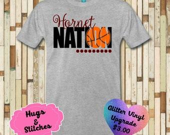 Hornet Nation Basketball Shirt