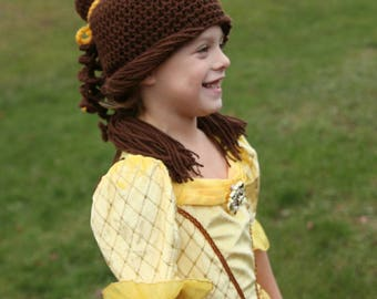 Beauty and the beast inspired Belle hat