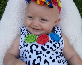 Cutly ribbon headband. Baby/toddler, girl headband