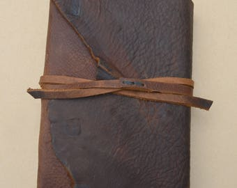 Leather Bound Journal Art Sketchbook Travel Adventure Diary Made to Order Landscape Architect Designer Field Notebook Custom Order (668B)