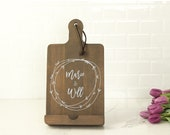 Personalized Kitchen Tablet Holder