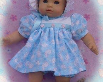 "American Girl Bitty Baby 15"" HOLIDAY Dress Set"