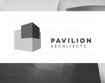 OOAK Premade Logo Design - 3D Building - Perfect for an architecture studio or a real estate agent