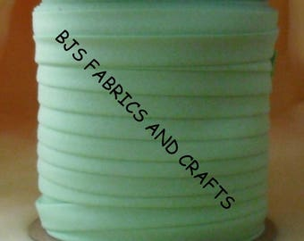 """MINT Green Bias Tape 1/2"""" EXTRA Wide Double Fold Bias Tape US Made 12 Yards"""