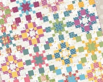Prairie Grass Patterns Solstice Quilt Pattern