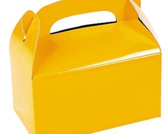 4 boxes United way yellow silverwear