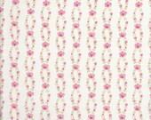 Tiny Pink Floral Fabric - Pink Rose Fabric - Pink Floral Fabric - Fleurs - Brenda Riddle Fabric - Moda Fabric