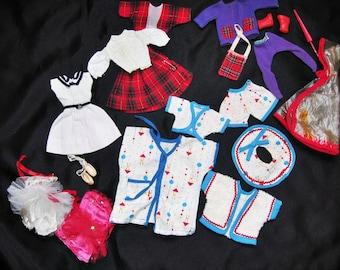 Vintage Barbie Doll Outfits Five Handmade Sets